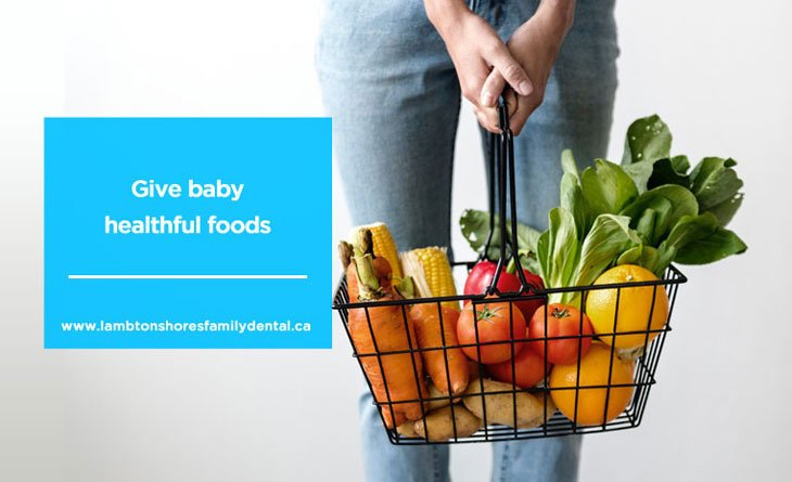give-baby-healthful-foods