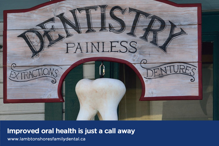 Improved oral health is just a call away